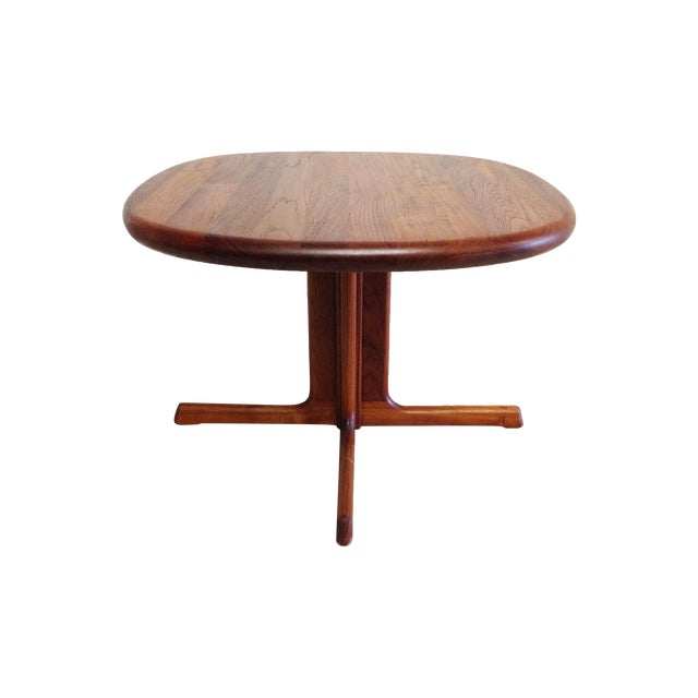 Dyrlund Mid-Century Modern Teak Side Table - Image 1 of 7
