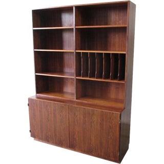 Vintage Mid-Century Modern Bookcase Credenza