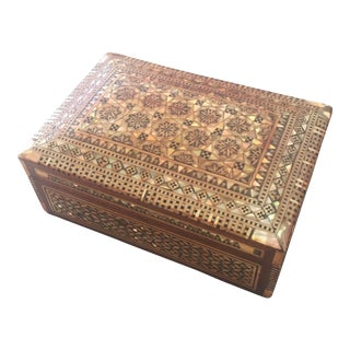 Mosaic Inlay Trinket Box