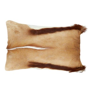 Exotic African Springbok Luxury Throw Pillows