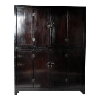 Eight Door Chinese Cabinet with Restoration