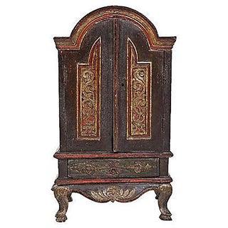 18th Century Antique Italian Diminutive Cabinet