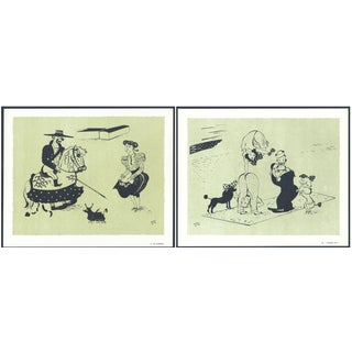 1944 Lithographs - Circus: # 6 & 28 - A Pair