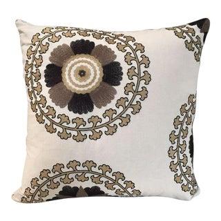 Kim Salmela Embroidered Pillow