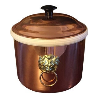 Vintage Coppercraft Guild Copper Ice Bucket