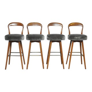 Dunbar Bar Stools by Edward Wormley