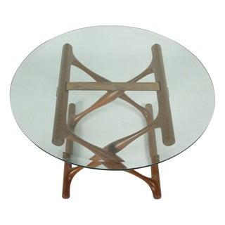 Poul Hundevad Teak Folding X-Base Occasional Table