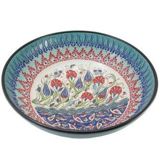 Ceramic Turquoise Samur Bowl