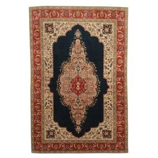 RugsinDallas Hand Knotted Fine Wool Persian Tabriz Rug -