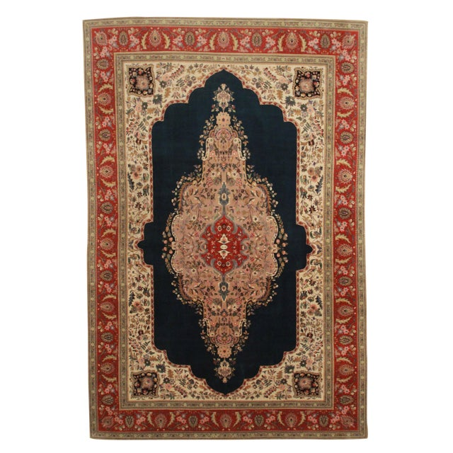 RugsinDallas Hand Knotted Fine Wool Persian Tabriz Rug - - Image 1 of 2