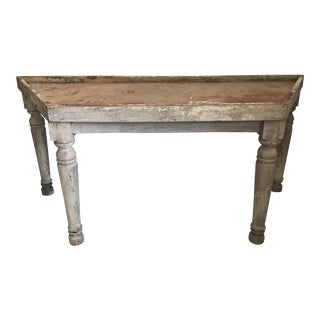 Table - Vintage Rustic Potting Table