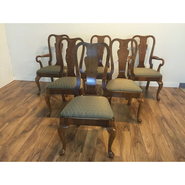 Henredon Traditional Dining Chairs - Set of 6 - Image 7 of 11