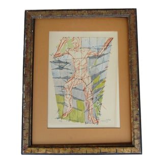 Jacques Villon Original Signed & Number Villon Cubist Lithograph
