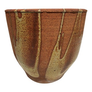 1970's David Cressey Flame Glaze Planter