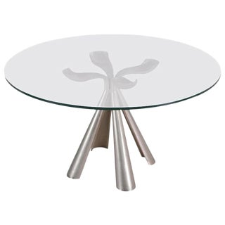 Italian Center or Dinning Table Designed by Introini for Saporiti