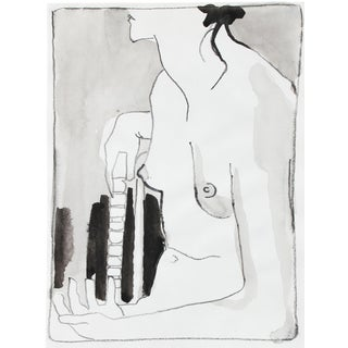 Ink Wash Nude by R. Matteson