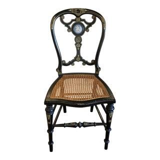 C. 1860 Napoleon III Neoclassic Ballroom Chair