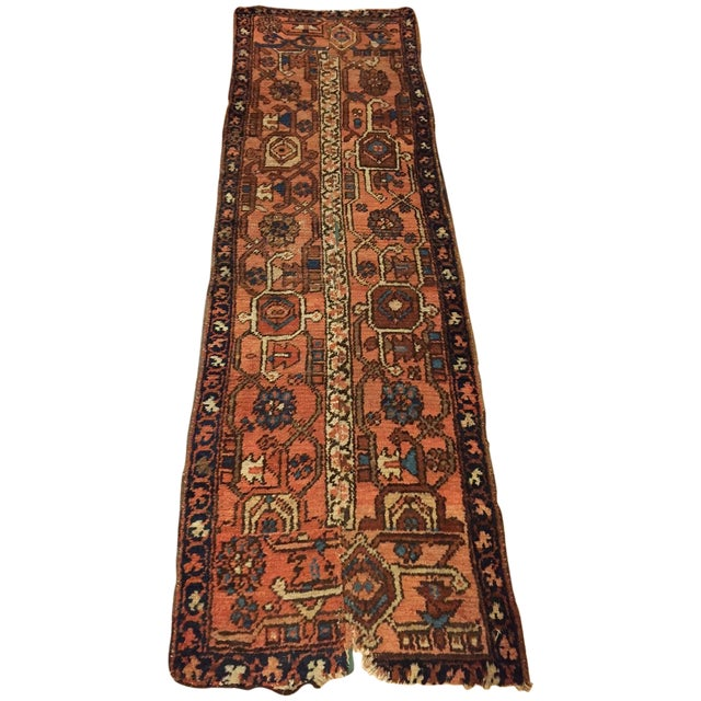 Vintage Hand Woven Persian Runner - 2′6″ × 8′ - Image 1 of 10