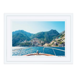 Gray Malin Positano Coast Framed Limited Edition Signed Print