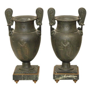 French Garniture Urns - A Pair
