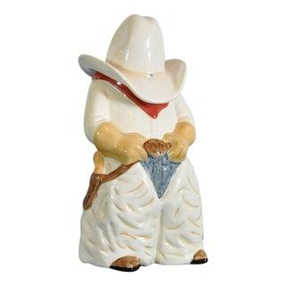Cowboy Cookie Jar