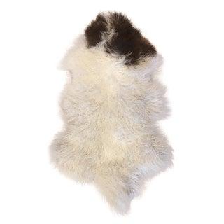 "Tibetan Lamb Fur Rug - 2'4"" X 4'"