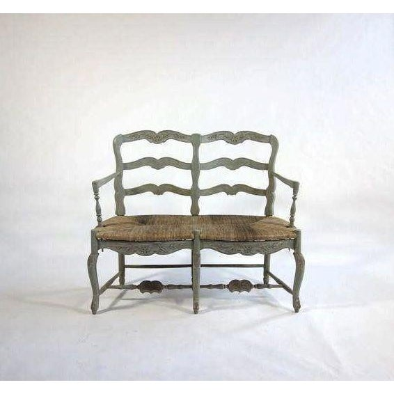 Image of Pierre Deux-Style Settee & Chairs