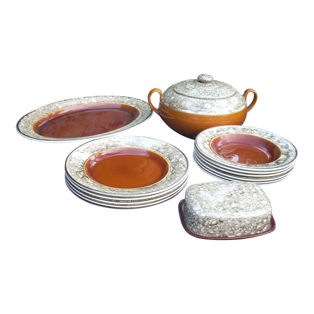 Lalins Country French Dinnerware - 14 Pieces - Image 1 of 5
