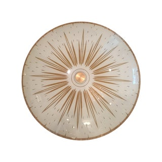 Atomic Lightolier Ceiling Mount Light Fixture
