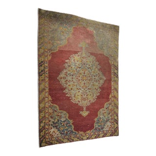 "Bellwether Rugs Vintage Turkish Oushak Faded Rug - 2'8"" X 3'11"""