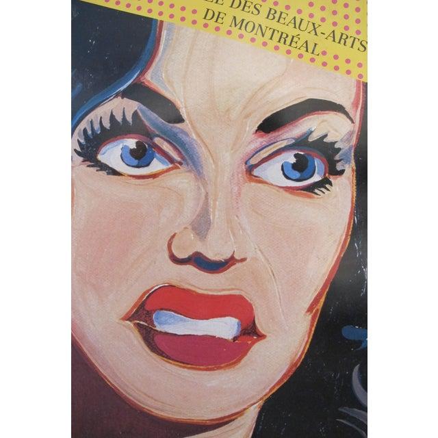 1992 Roy Lichtenstein and Mel Ramos Pop Art Exhibition Poster - Image 3 of 3