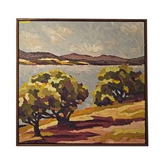 """""""Summer Lake"""" Marin Landscape"""