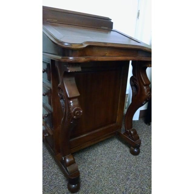 Davenport Captain's Writing Desk - Image 4 of 10