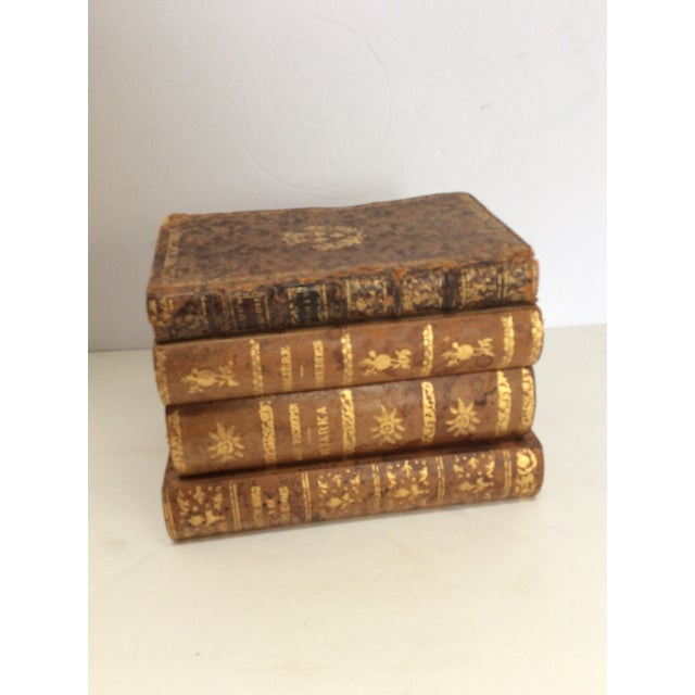 Stack of Books Leather Box - Image 2 of 8