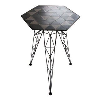 Bridge Gueridon Side Table
