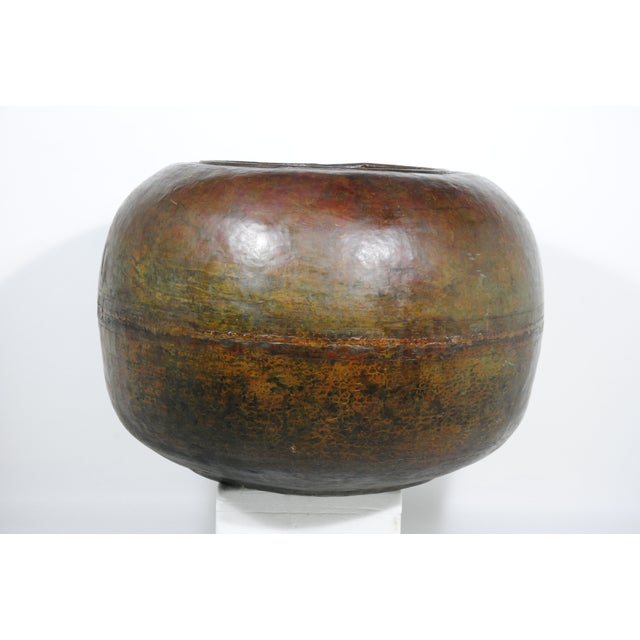 Image of 1960s Oversize Mexican Copper Pot
