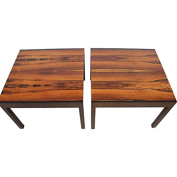 Baker Rosewood Tables - A Pair - Image 2 of 9