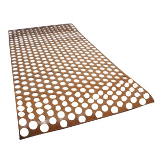 Perforated Leather Screen