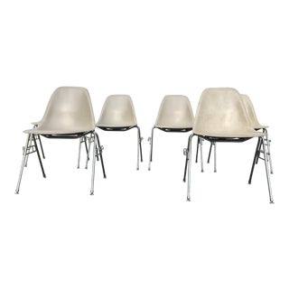 Herman Miller Eames Fiberglass Dining Chairs - Set of 6