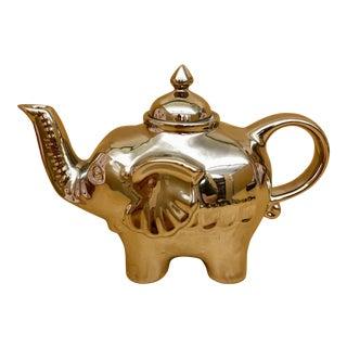 Silver Elephant Teapot