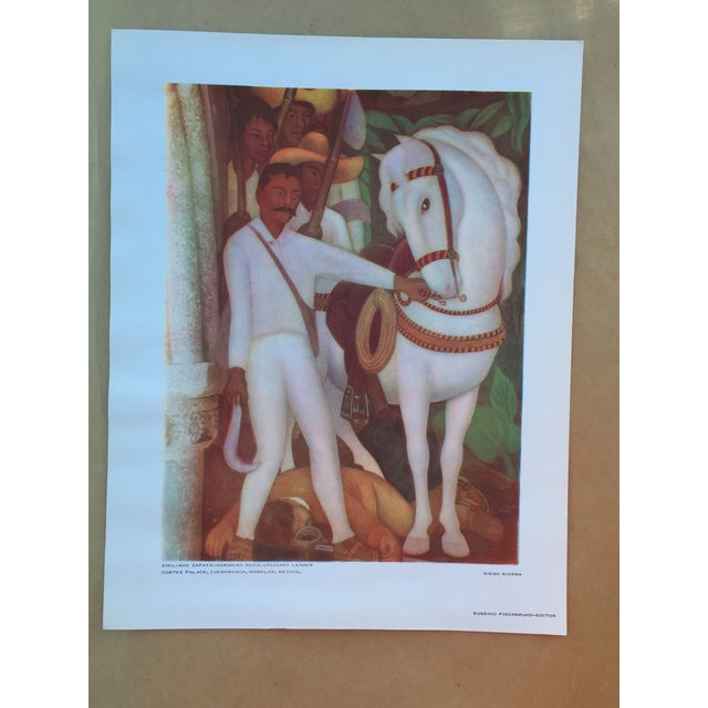 Diego Rivera Lithograph, 1946 - Image 2 of 6