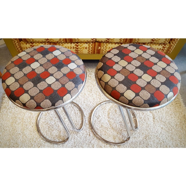 """Image of Pair of Poul Henningsen """"Piano"""" Stools"""