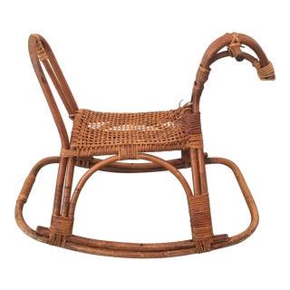 Scandinavian Mid-Century Rocking Horse