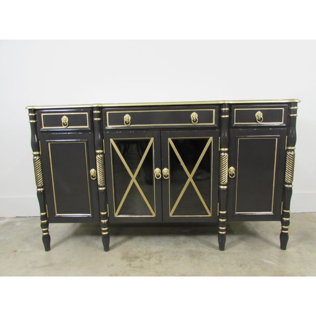 Maison Jansen Black Sideboard - Image 9 of 9