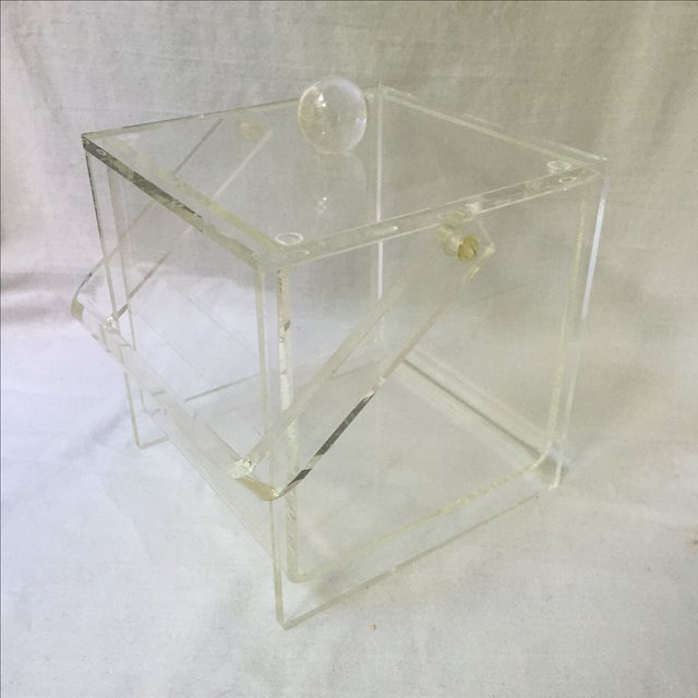 Vintage Lucite Ice Bucket - Image 2 of 6
