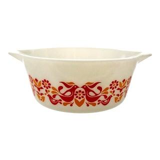 Mid-Century Pyrex Friendship Casserole Bowl