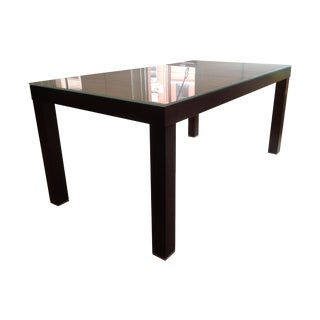 Ligne Roset Extend Dining Table with Frosted Glass