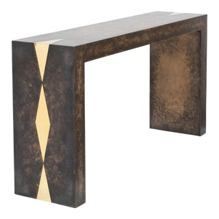 The Bronze Collection Console Table by Talisman Bespoke
