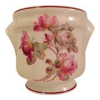Vintage Floral Limoges Cachepot