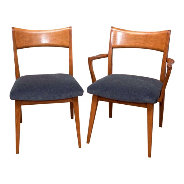 Set of Six Heywood-Wakefield Dining Chairs - Image 1 of 10